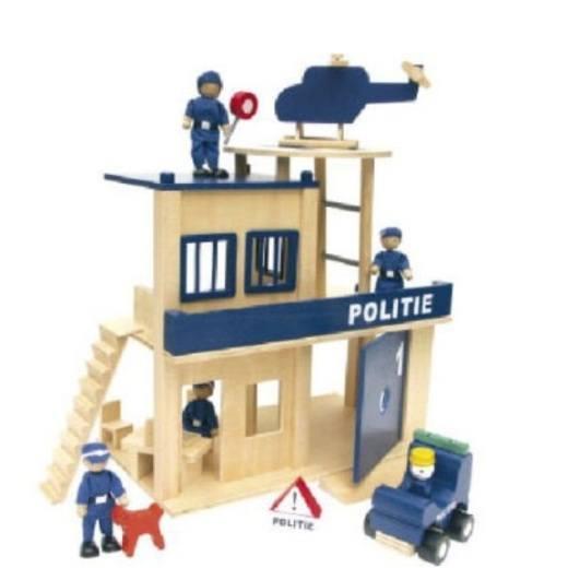Houten politiebureau Speelotheek Speelakker Deventer